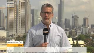 Nahost-Konflikt: Richard C. Schneider zur aktuelle Lage in Israel am 14.10.2015
