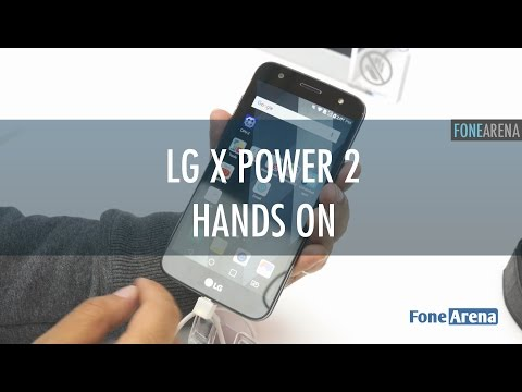 LG X Power 2 Hands On