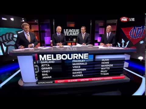 2014.07.17 - League teams - Port v Melbourne