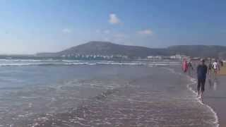 Агадир, Марокко. Пляж и Атлантический океан