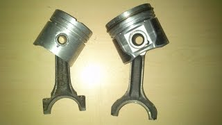 gasoline and diesel piston difference