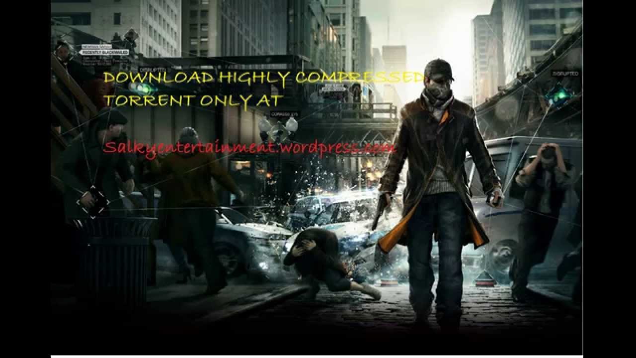 Watch dogs pc highly compressed 700mb