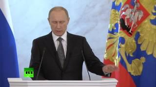 Послание Владимира Путина Федеральному Собранию 2014