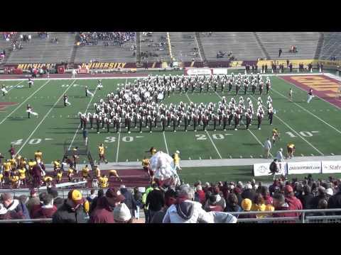 CMU Marching Band Playing..