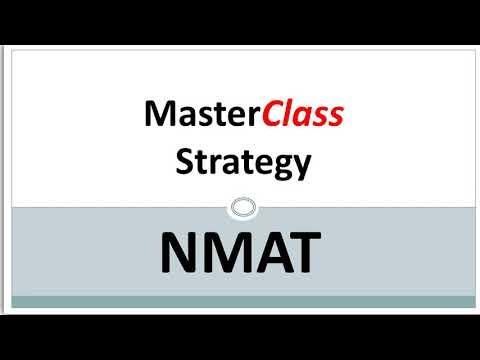NMAT Quant Strategy video. Attempts Cutoffs Important topics.