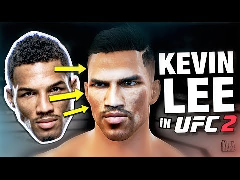 How To Make KEVIN LEE In EA SPORTS UFC 2 - CREATE A FIGHTER TUTORIAL