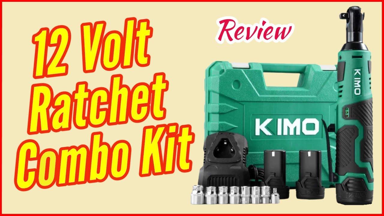 Kimo 12 Volt Cordless Ratchet Review / Better than Harbor Freight Hercules Cordless Ratchet