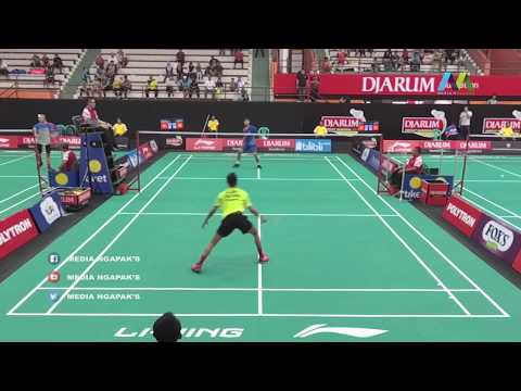 Jelang Fajar Vs Yudha Putra Pramudia - DJARUM SIRNAS 2019 LIVE Gor Satria Purwokerto