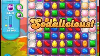 Candy Crash Soda Saga level 429 Solved