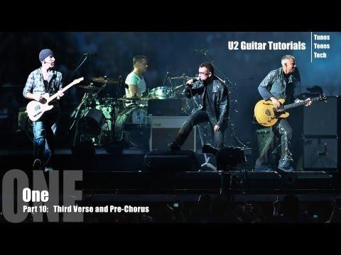 Part 10:  One (U2 Guitar Tutorial) - Third Verse & Pre-Chorus