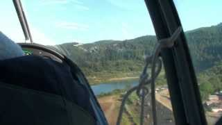 Flying from Ashland, OR to the Oregon Coast