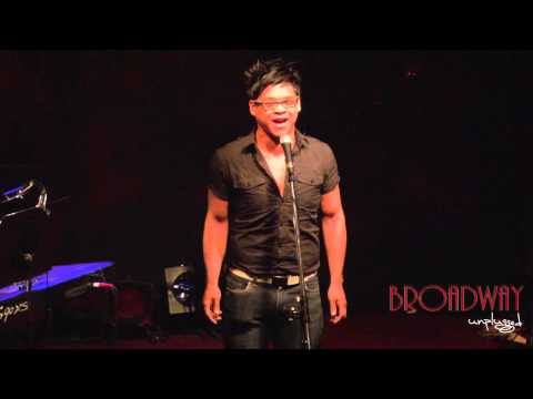 "Broadway Unplugged - Sean Perez ""Out There"""