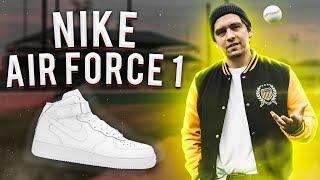 NIKE AIR FORCE: КРОССОВКИ СТАРИКА!(Сообщество SneakerHead: https://vk.com/sneaker_head Nike Air Force - отличные кроссовки, в которых я теперь хожу. Не понимаю, почему..., 2016-06-14T23:50:49.000Z)