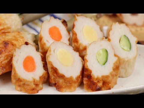 Homemade Chikuwa Recipe 焼き竹輪 レシピ 作り方