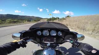 2015 Harley Davidson Street Glide Demo Ride w/ vlog review