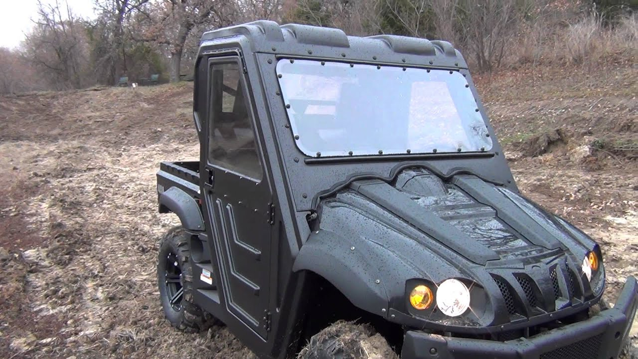 Full Hard Cab Enclosure Kit for Hi-Sun & Massimo 500cc & 700cc UTV's - Fast  FREE Shipping