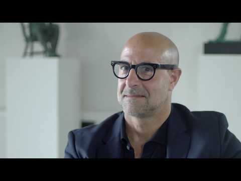 Stanley Tucci on Sexy Bald Men & Worst Food Habits.