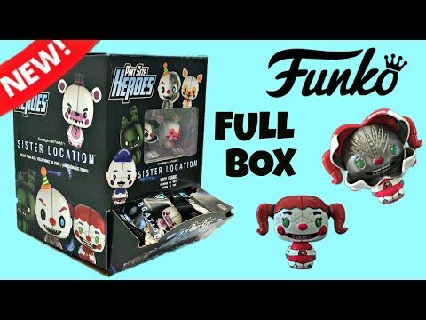 Funko FNAF Sister Location Pint Size Heroes, Full Box, Unboxing Blind Bags, Surprises