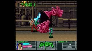Alien Storm (World, 2 Players, FD1094 317-0154) - alien storm arcade playthrough 60 fps - User video