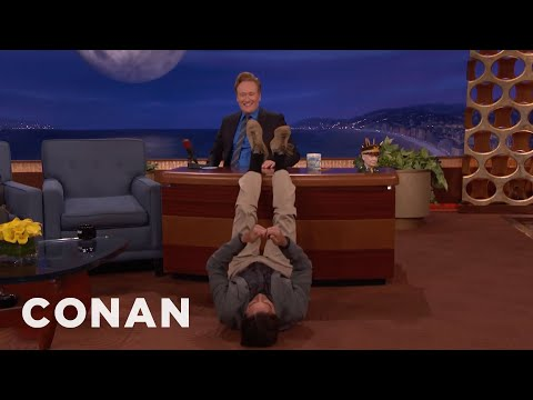 Luke Wilson's Impression Of Millennials At The Airport  - CONAN on TBS