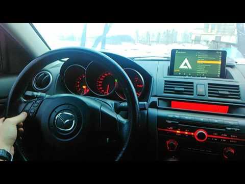 Установка планшета Teclast P80H в Mazda 3