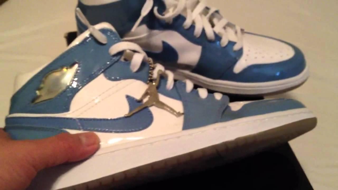 Day 1 - 23 Days of Jordans! - Carolina Blue Patent Leather I - YouTube 5f3f10b3b1