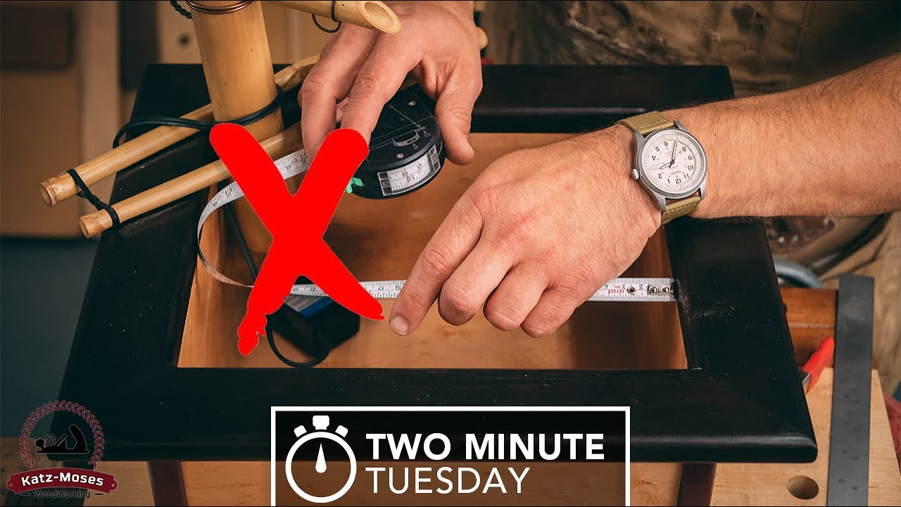 Perfect Inside Measurements - Two Minute Tuesday