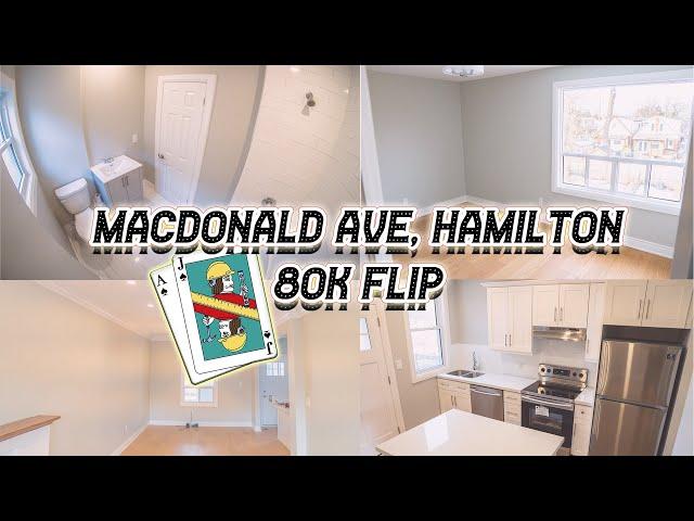 MacDonald Ave Hamilton- 80k Flip Reno.