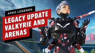 Apex Legends: Legacy - All Valkyrie abilities, Arenas Gameplay, \u0026 Bocek Details