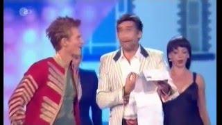 """Uli Scherbel & Gianni Meurer singen """"Ein Ehrenwertes Haus"""" ZDF Geburtstagsgala für Üdo Jürgens 2014"""