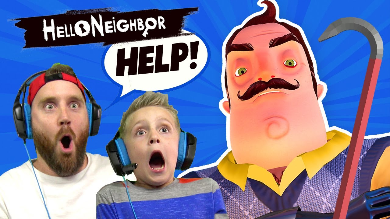 Hello Neighbor Using YOUR COMMENTS! | K-City GAMING