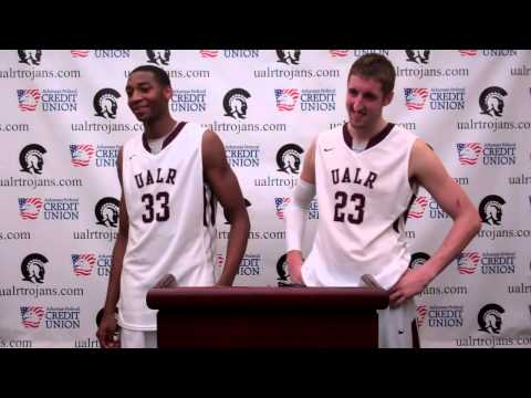 MBB: Will Neighbour and James White Post-Game UAFS Interview