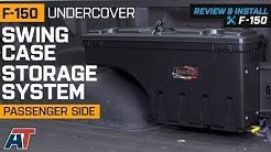 2015-2018 F150 UnderCover Passenger Side Swing Case Storage System Review & Install