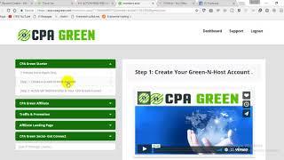 كيفية إنشاء CPA الأخضر حساب VIP A إلى Z