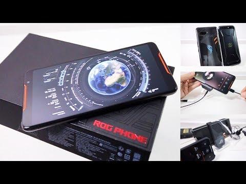 Asus ROG Phone 华硕玩家国度游戏手机深度开箱上手,大战黑鲨谁终称王?