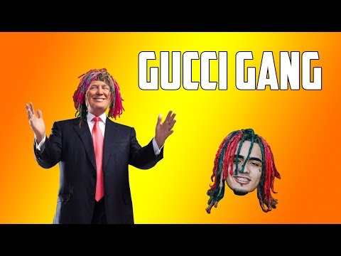 Man Dressed Like Donald Trump Sings Gucci Gang on America's Got Talent 2018