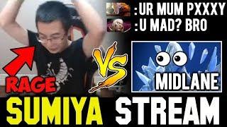 SUMIYA Invoker with Flammer vs Midlane AA | Sumiya Invoker Stream Moment #304