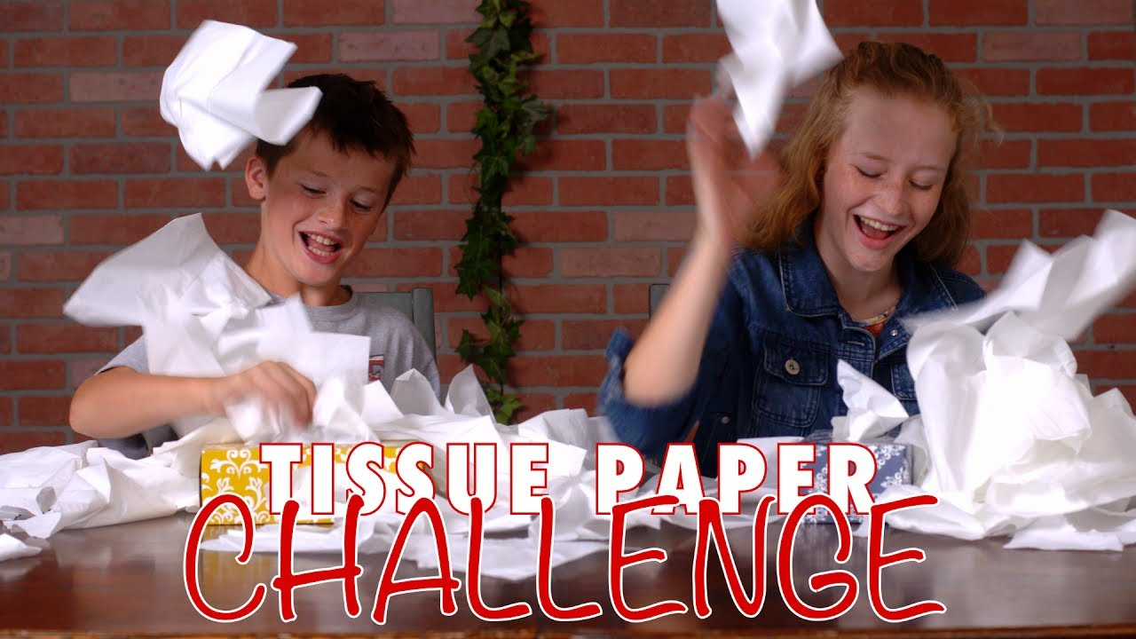 Tissue Box Challenge Nothing To Sneeze At A Minute To