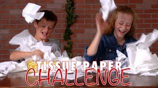 Tissue Box Challenge: Nothing To Sneeze At! A Minute To Win It Party Game
