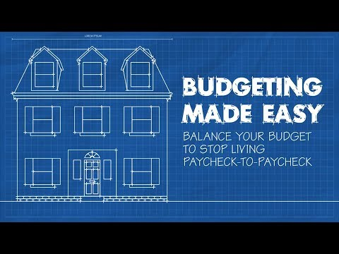 Balance Your Budget to Stop Living Paycheck-to-Paycheck