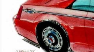 Chrysler 300 drawing