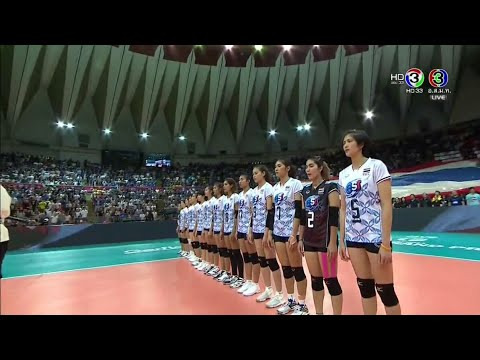 Thailand vs Italy - Volleyball World Grand Prix 2017 #WGP201