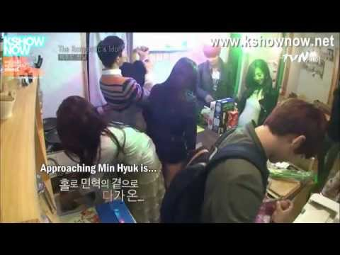 Minhyuk & Jiwon (MinJi) @The Romantic & Idol S2 part 1 [eng]