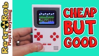 This Cheap Gameboy Clone is Pretty Good! HKB-508 Unboxing, Gameplay and Thoughts!
