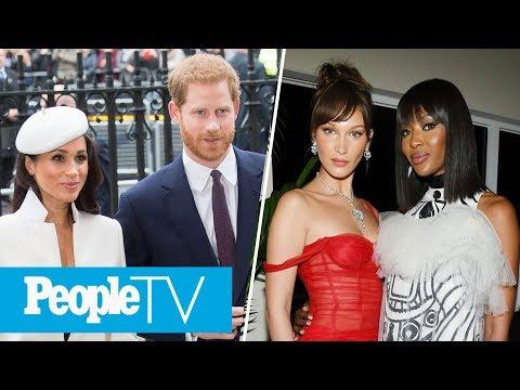 Royal Wedding Preps Are Happening, Bella Hadid Supports Naomi Campbell At Cannes | PeopleTV