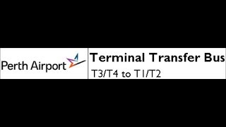 Perth Airport Terminal Transfer Bus: T3/T4 to T1/T2