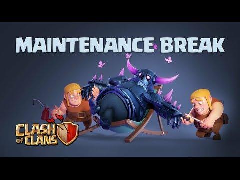 MAINTENANCE BREAK COMING|NO UPDATE|CLASH OF CLANS