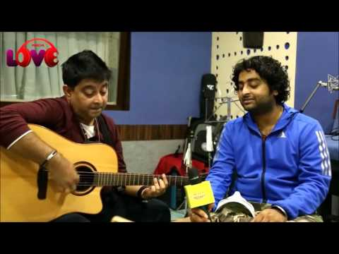 Arijit singh  and Jeet Ganguly live HD   Aankhon me teri ajab si unplugged   medley