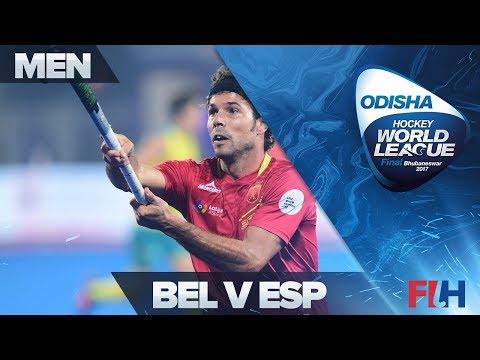 Belgium v Spain - Odisha Men's Hockey World League Final - Bhubaneswar, India