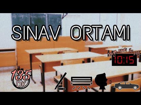 SINAV ORTAMI - DENEME ÇÖZERKEN SINAVDA HİSSET 135 DK (ÖSYM SAATİ VE SINAV SESLER